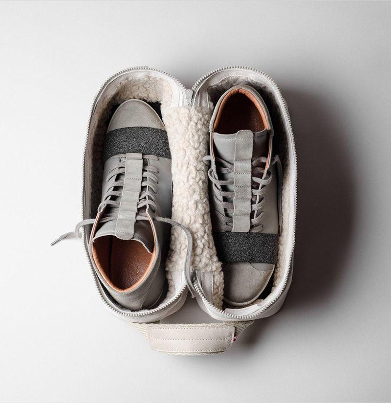 Italian Suede Sneaker Bags
