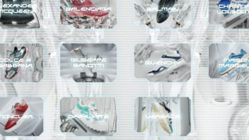 Virtual Sneaker Showrooms