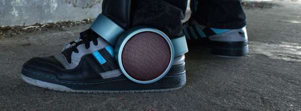 Strap-On Shoe Soundsystems