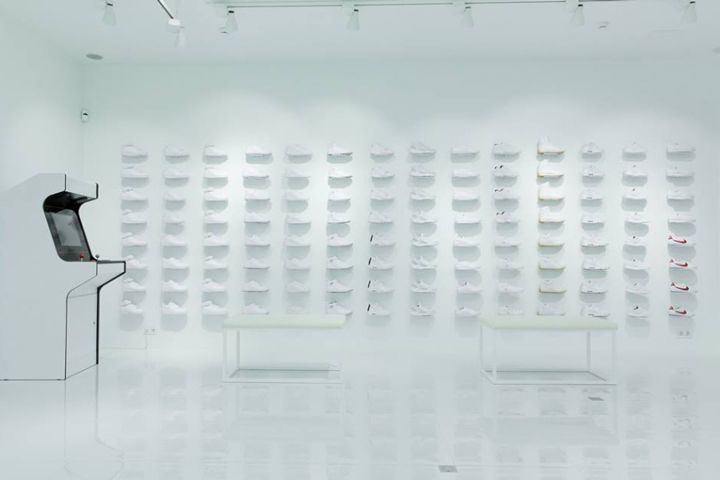 Whiteout Sneaker Shop Concepts