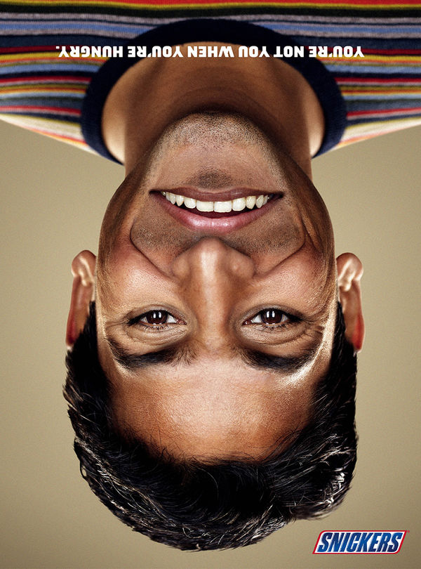 Upside Down Smile Ads