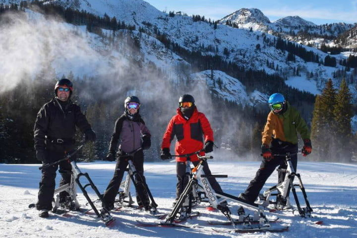 Pedal-Powered Winter Sports