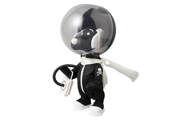 Canine Astronaut Figurines