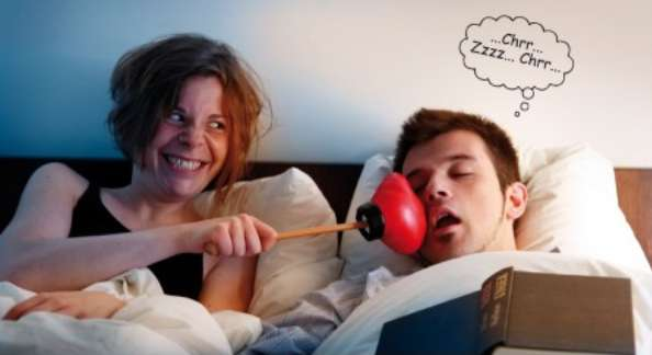 Snore-Silencing Punch Sticks