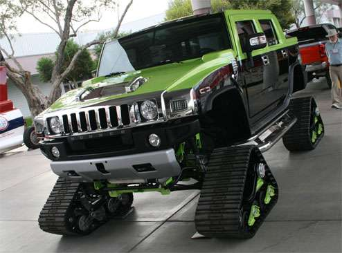Hummer Snow Cruisers