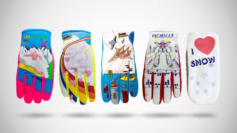 Nostalgic Color-Changing Winter Gloves