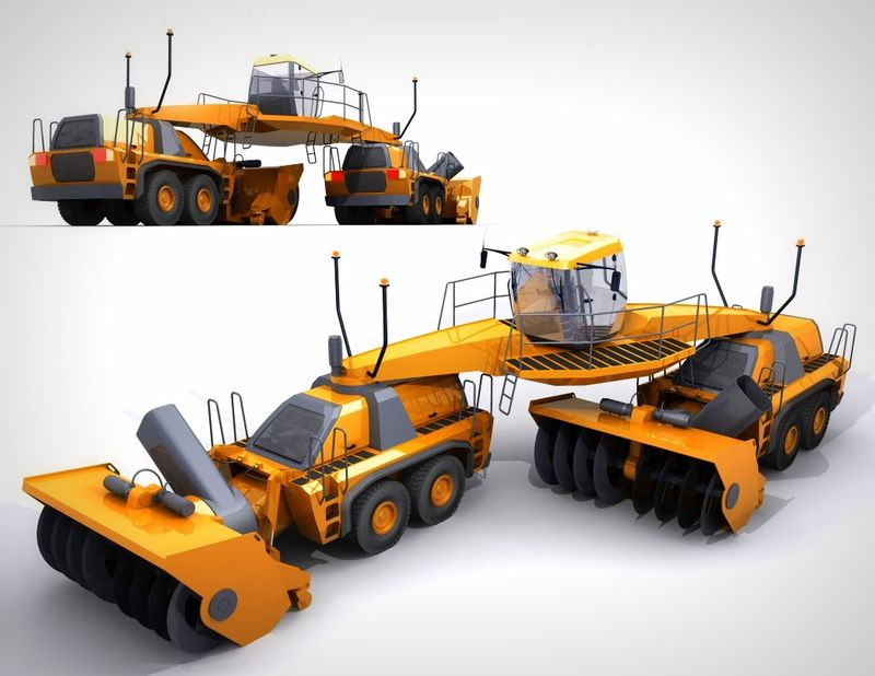 Multi-Position Snow Removal Vehicles