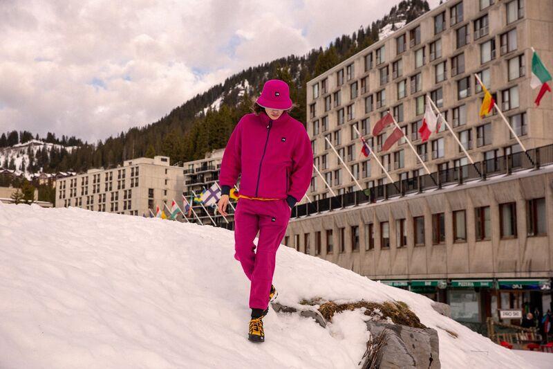 Vibrant Cozy Ski Apparel