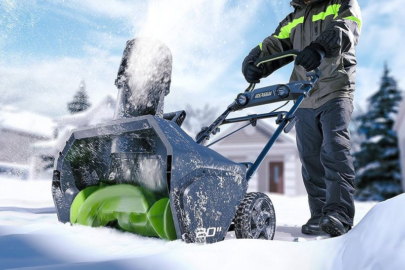 Maintenance-Free Cordless Snow Blowers