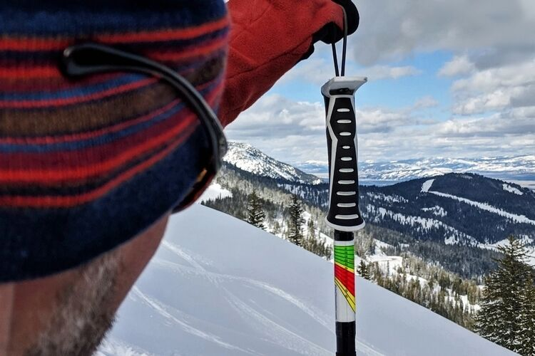 Ski Slope-Measuring Stickers