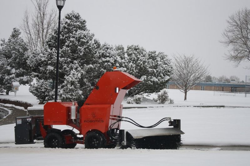 Self-Driving Snow Removal Robots