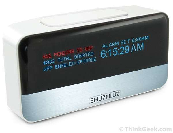 Clock Donates Your Money To Charity When You Hit Snooze