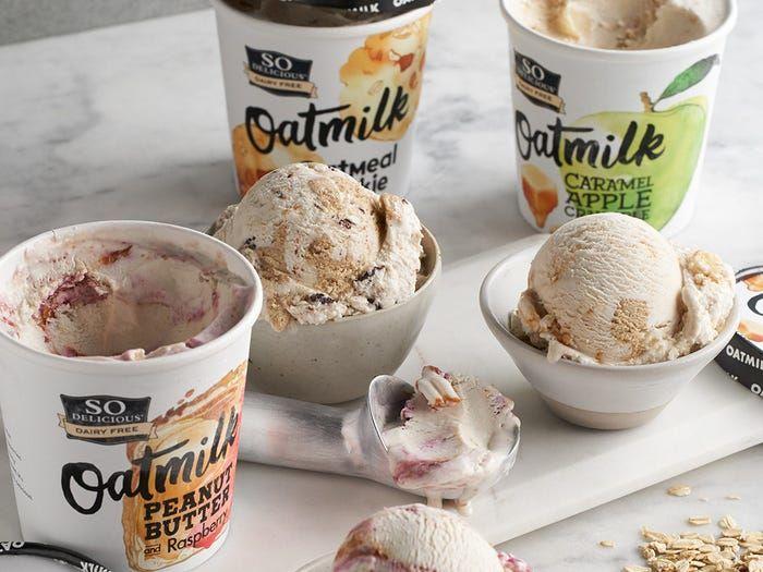 Oat Milk Frozen Desserts