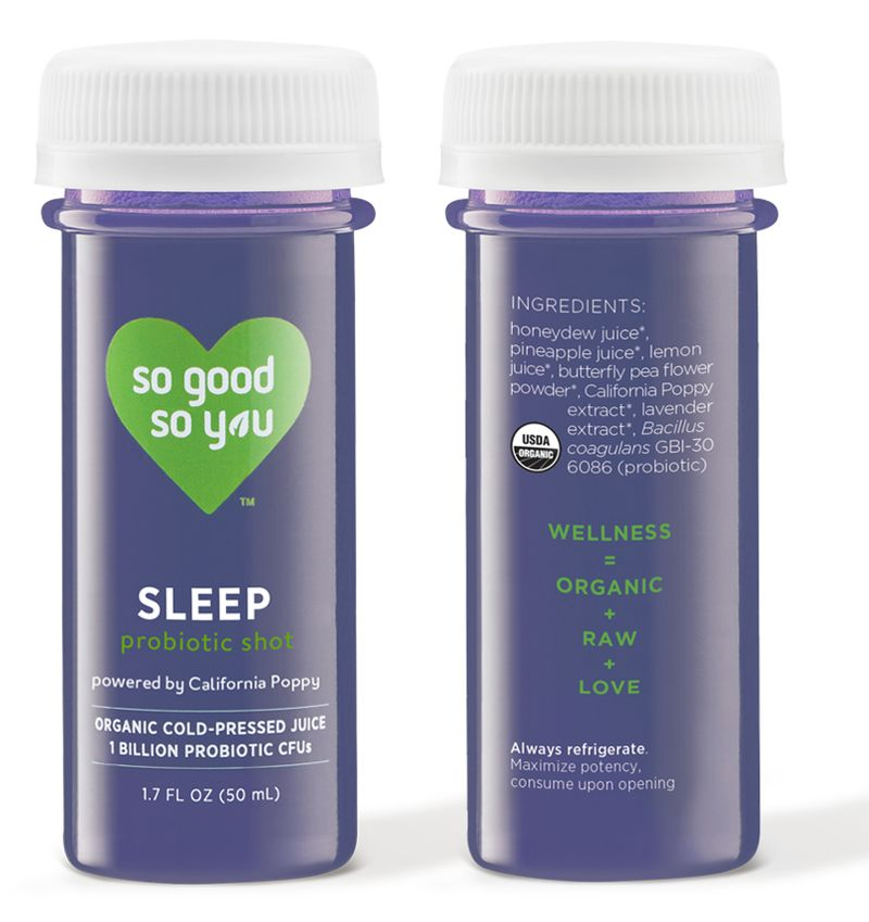 Sleep-Supporting Probiotic Shots