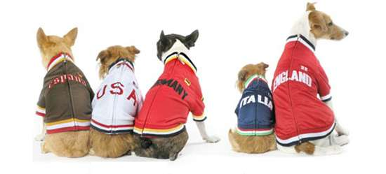 Patriotic Canine Track Jackets