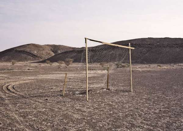Desert Soccer Pitch Pictures