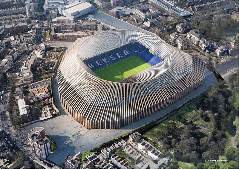Expansive Stadium Redesigns