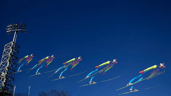 Split-Second Olympic Photographs