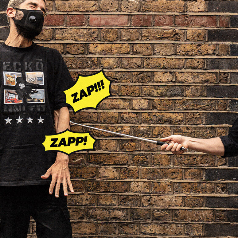 Social Distancing-Enforcing Zappers