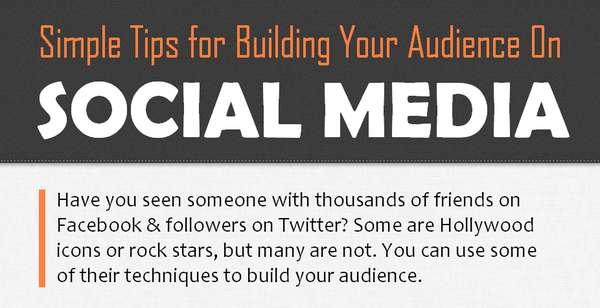 Social Following Infographics