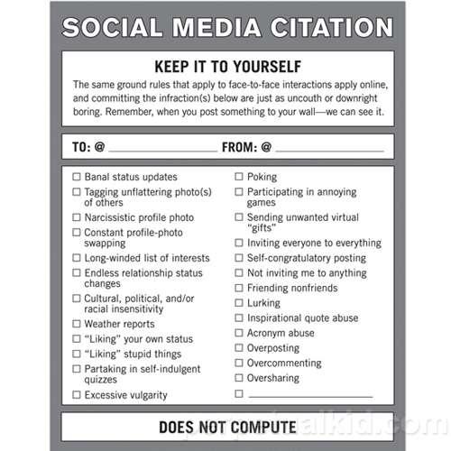 Facebook Etiquette Tips