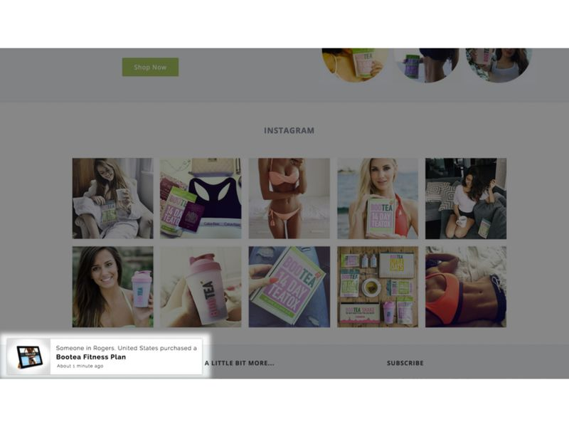 Urgency-Creating Website Notifications