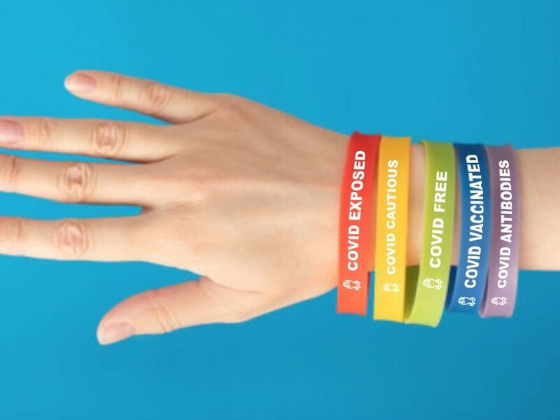 Color-Coded Health Bracelets