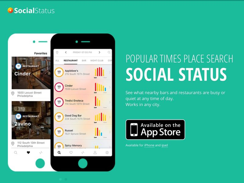Restaurant Busyness-Rating Apps