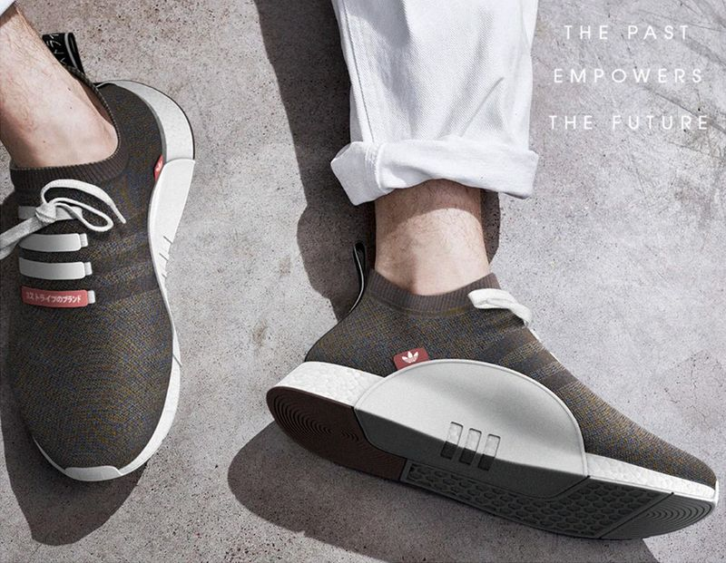 Ergonomic Sock-Inspired Sneakers