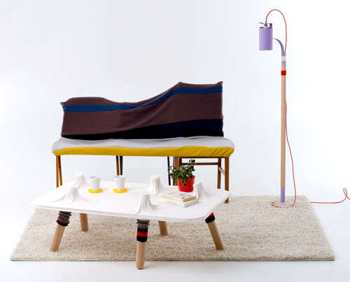 Stocking-Inspired Furnishings