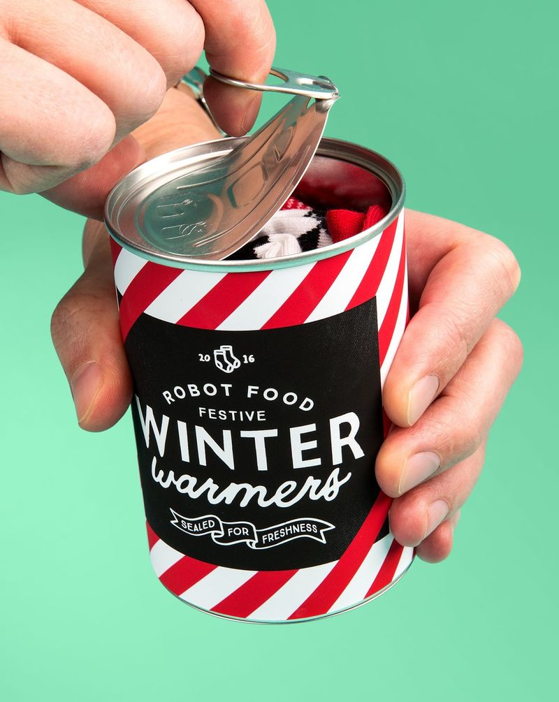 Canned Sock Gifts