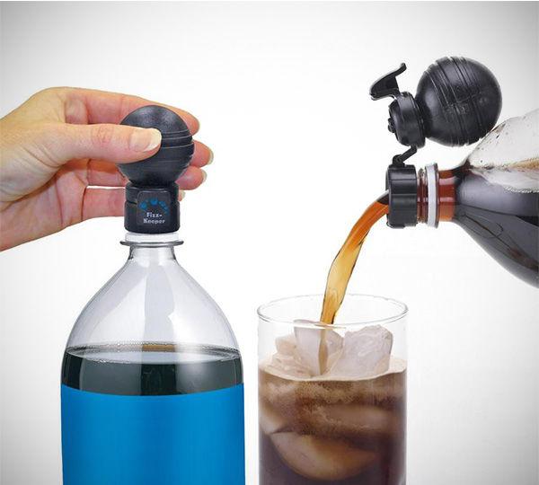 Soda-Preserving Bottle Toppers