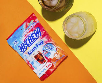 Chewy Soda-Flavored Candies