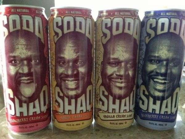 Supersized Star-Branded Soda