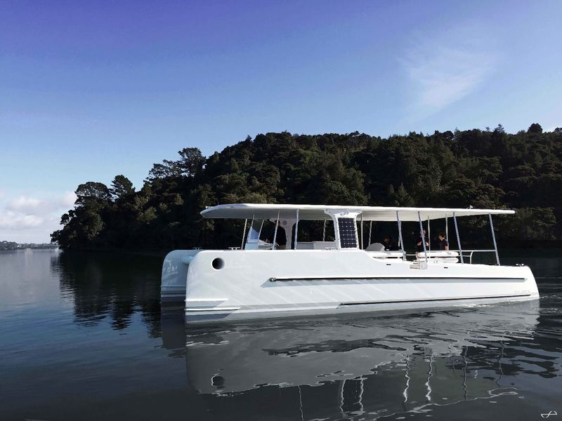 Fuel-Free Solar Catamarans
