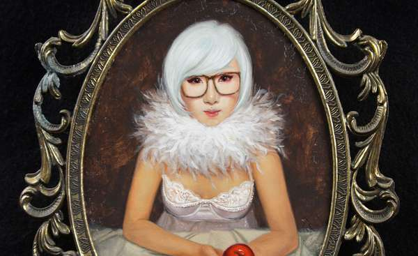 Albino Asian Portraits