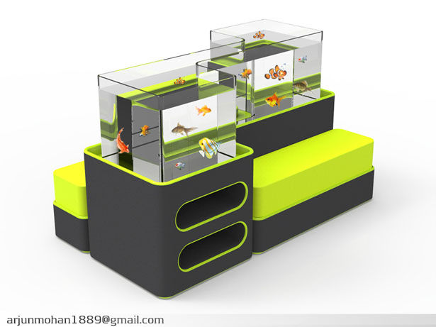 Fish Tank Seating Solutions