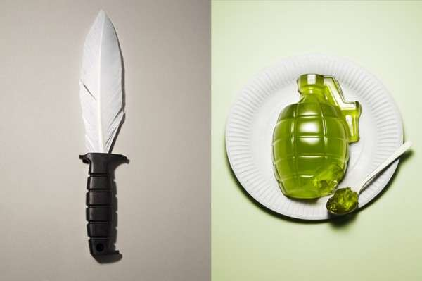 Destructive Edible Weapons