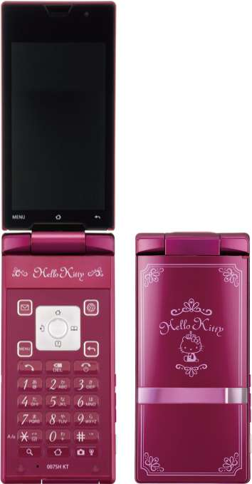 Violet Feline Smartphones