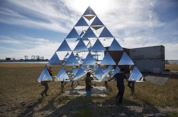 Prismatic Pyramid Kites