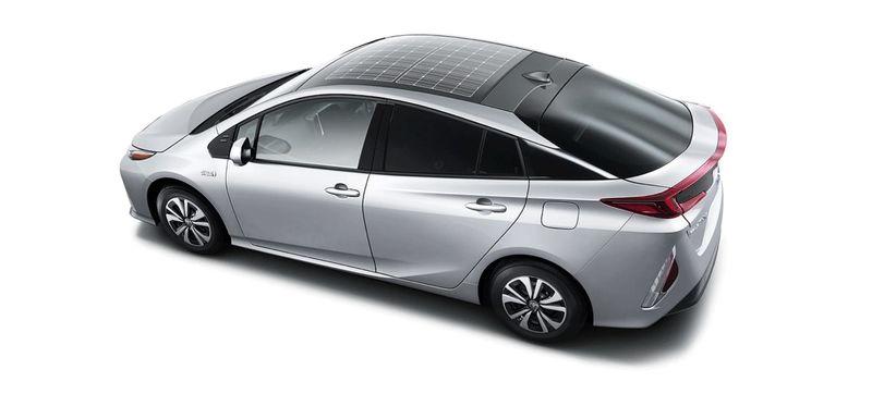Solar Roof Hybrid Vehicles