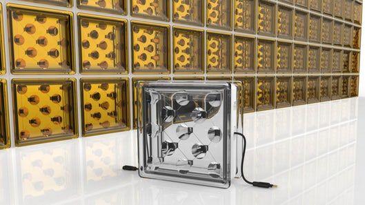 Energy-Harnessing Glass Blocks