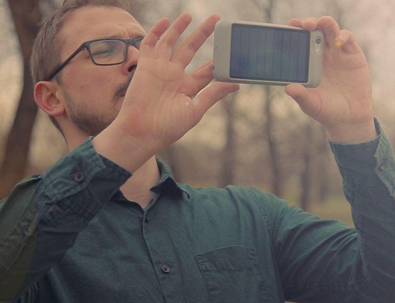 Slim Solar Smartphone Cases