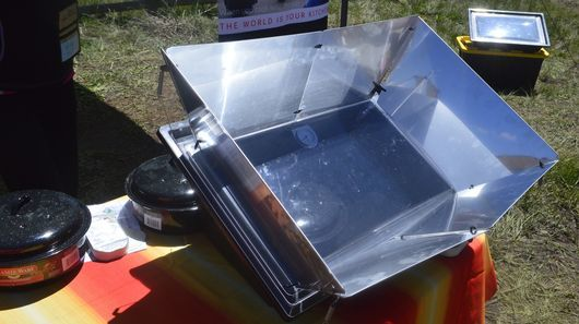Solar-Powered Ovens