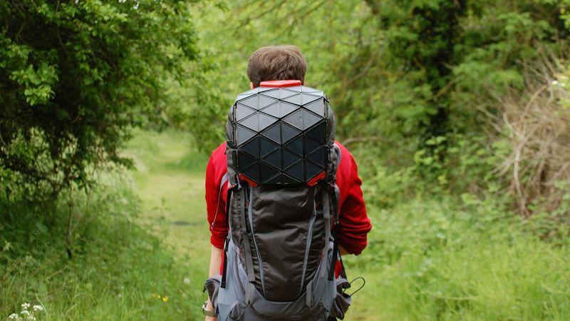 Flexible Solar Panel Backpacks