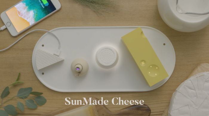Cheese-Themed Solar Panel Designs