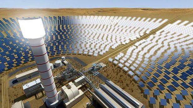 Humongous Solar Parks