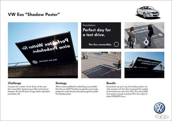 Solar Powered Ads