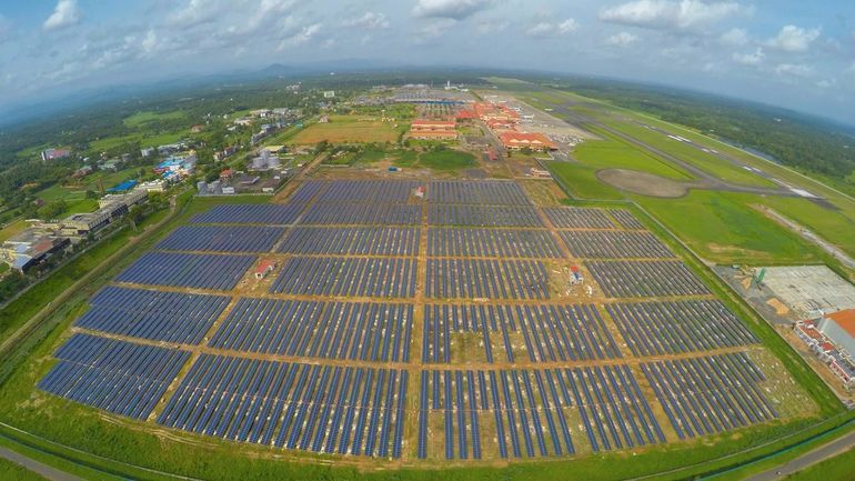 Solar-Powered Airports