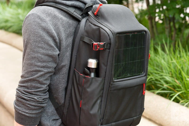 Solar-Powered Backpacks